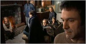 The firends, and John Oldman (picture from 'Spoilerific Review: The Man from Earth', with my thanks)